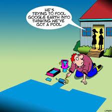 Backyard Cartoon Google Earth By Toons Media U0026 Culture Cartoon Toonpool