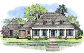 House Plans With Front Porch by Acadian House Plans Americas Home Place With Front Hahnow