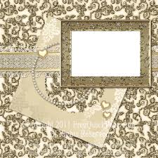 Wedding Scrapbook Page Gold Wedding Scrapbooking Layout By Wonderlandscraps On Deviantart