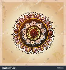 indian ethnic henna tattoo pattern orient stock vector 345028937