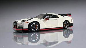 nissan gtr lego nissan gt r nismo fulfills our childhood speed dreams