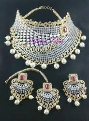 bridal jewelry bridal jewelry sets at rs 7500 set mumbai id 11644348630
