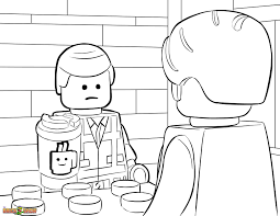the lego movie coloring pages free printable in lego emmet eson me