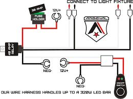 wiring diagrams spotlight kit led harness simple cree light bar