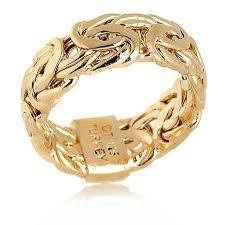 band ring technibond byzantine style band ring 6557102 hsn