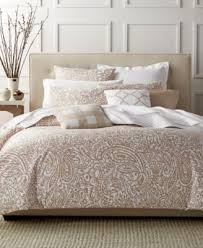 Macy Bedding Comforter Sets Charter Club Damask Designs Paisley Taupe Comforter Sets Only At