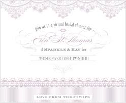postcards and pretties virtual bridal shower sparkle u0026 hay