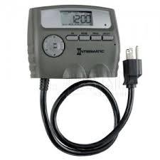 intermatic light timer manual intermatic hb800rcl timer 125v 1800w outdoor digital timer