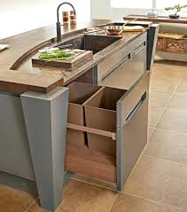 trash cans for kitchen cabinets kitchen trash can cabinet rev a shelf double quart gallon waste bins