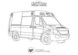 ambulance coloring pages printable get coloring pages