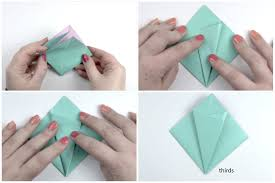 Step By Step Origami For - how to make an easy origami flower