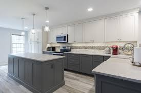are two tone cabinets out of style kitchen design trend 2019 amiano construction
