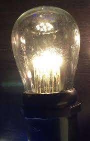 led glass sign bulbs box of 25