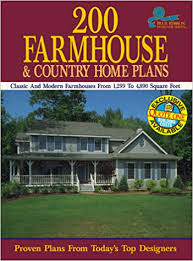 Southern Farmhouse Home Plan Impressive 200 Farmhouse And Country Home Plans Classic And Modern
