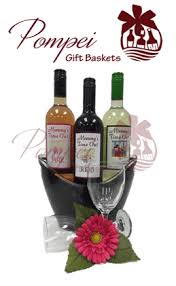 gift baskets with wine three for me wine gift basket by pompei baskets
