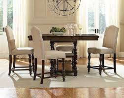 enjoy luxurious experience with stylish counter height dining sets