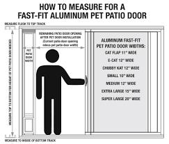 How To Remove Sliding Patio Door Panel by Amazon Com Ideal Pet Products Aluminum Modular Patio Pet Door