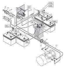 wiring diagram 1983 36 volt ez go golf cart wiring diagram