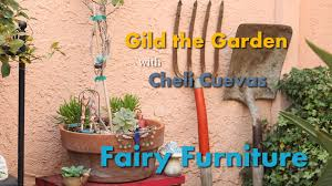 fairy garden furniture diy youtube