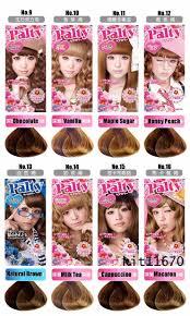 palty hair dye color chart om hair