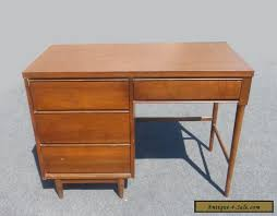 antique style writing desk vintage danish mid century modern style writing desk 4 drawers peg