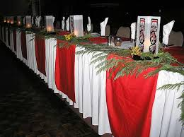 red and white table runner 05 red runners on white table cloth native lanterns
