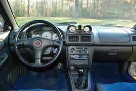 subaru rsti coupe fs usa ky 1999 rsti coupe silver sti interior ej207