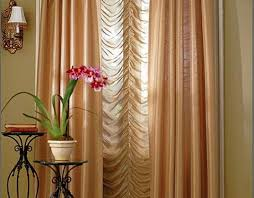 Bright Orange Curtains Decor Fascinating Living Room Curtains And Drapes Ideas Photo