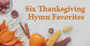 six thanksgiving hymn favorites jpg