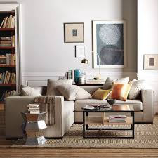 Sectional Sofa In Small Living Room Expandable Modular Best Sectional Sofas Apartment Therapy