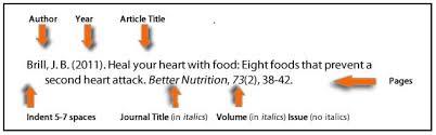 apa format reference journal article mediafoxstudio com