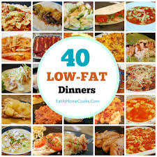 my big fat list of 40 low fat recipes food and recipes