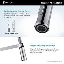magnetic kitchen faucet stainless steel kitchen sink combination kraususa