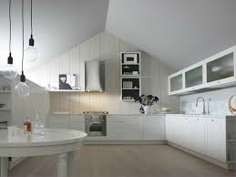 kitchen with peninsula noa composition 3 by cesar arredamenti