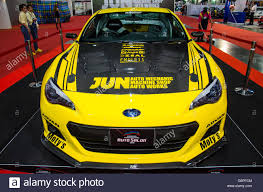 modified subaru brz bangkok thailand 22nd june 2016 subaru brz jun auto mechanic