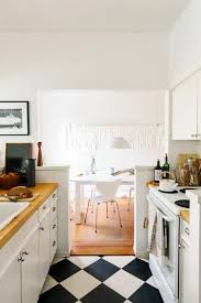 carrelage cuisine damier noir et blanc le carrelage damier noir et blanc en 78 photos archzine fr