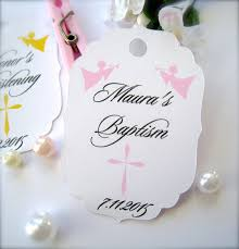 confirmation favors baby baptism favor tags christening favor tags communion
