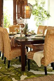 tropical dining room furniture tropical dining room chairs solid walnut round table with self