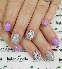 45 purple nail art ideas spring purple nail art and silver nails