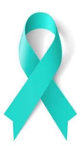 teal ribbons raster version teal ribbon as symbol of scleroderma ovarian
