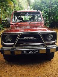 daihatsu rocky automart lk registered used daihatsu rocky jeep for sale at