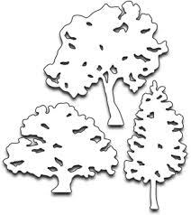 trio of trees black dies 51 208 123stitch