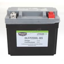 bikemaster lithium ion battery dlfp 20 hl bs atv motorcycle