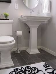 Diy Bathroom Floor Ideas Wide Plank Tile For Bathroom Great Grey Color Great Option If