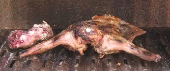 cuisiner lapin entier lapin entier grillé au barbecue les marmites de marphyl