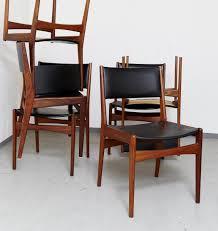 Esszimmerst Le Preis Vintage Teak Esszimmerstühle Von Poul M Volther Für Frem Røjle