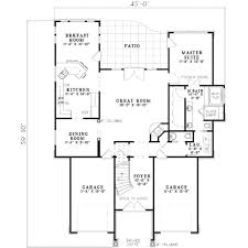 plans com traditional style house plan 3 beds 3 00 baths 1964 sq ft plan