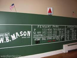 red sox green monster fenway scoreboard kids room hand painted red sox green monster fenway scoreboard kids room hand painted