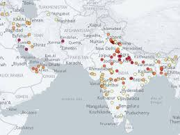 world map pakistan karachi methodology for mapping the cities with the unhealthiest air