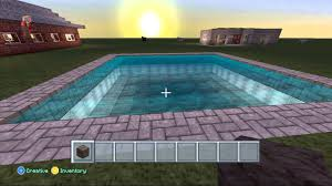 minecraft xbox 360 how to build a swimming pool youtube